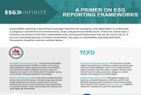 ESG Infinite Framework Primer FRONT3