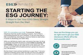 Five Steps Begin ESG3